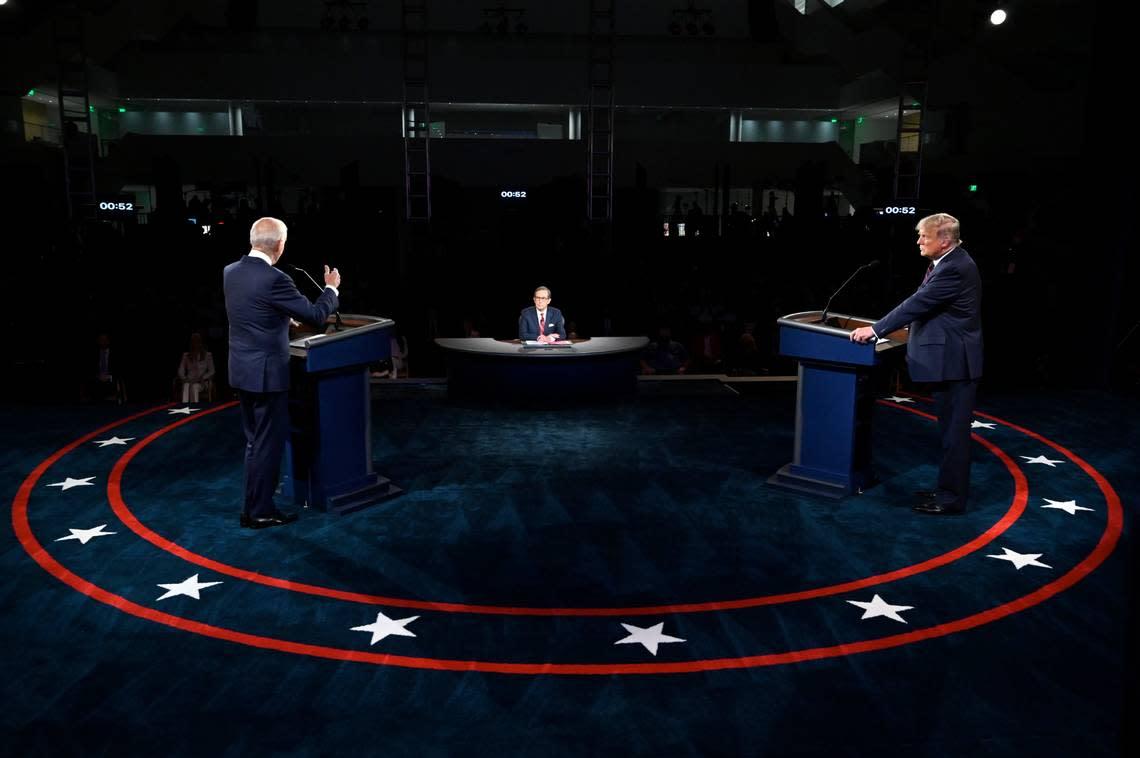 Trump campaign blasts presidential debate organizers ahead of Miami clash with Biden