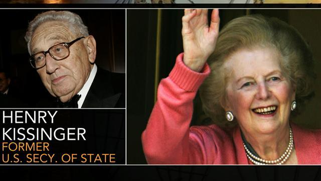 Kissinger on Thatcher: