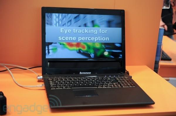 Tobii and Lenovo show off prototype eye-controlled laptop, we go eyes-on (video)