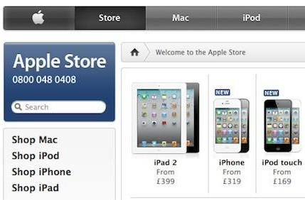 Apple becomes UK's #2 online retail store