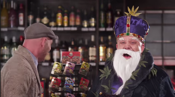 Watch the World's First Non-Medical Marijuana Commercial