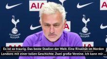 "Mourinho: Derby ohne Fans? ""Das ist so traurig"""
