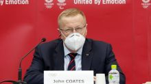 Olympics-Coates says opposition a 'concern' but Tokyo Games will go ahead