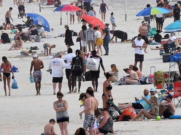 Florida reports more than 10,000 COVID-19 variant cases, surge after spring break thumbnail