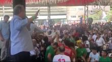 """Ciro Gomes é vaiado e reage: """"Lula tá preso, babaca!"""""""
