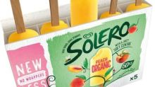 Solero ice lollies to be sold without wrappers to cut single-use plastic