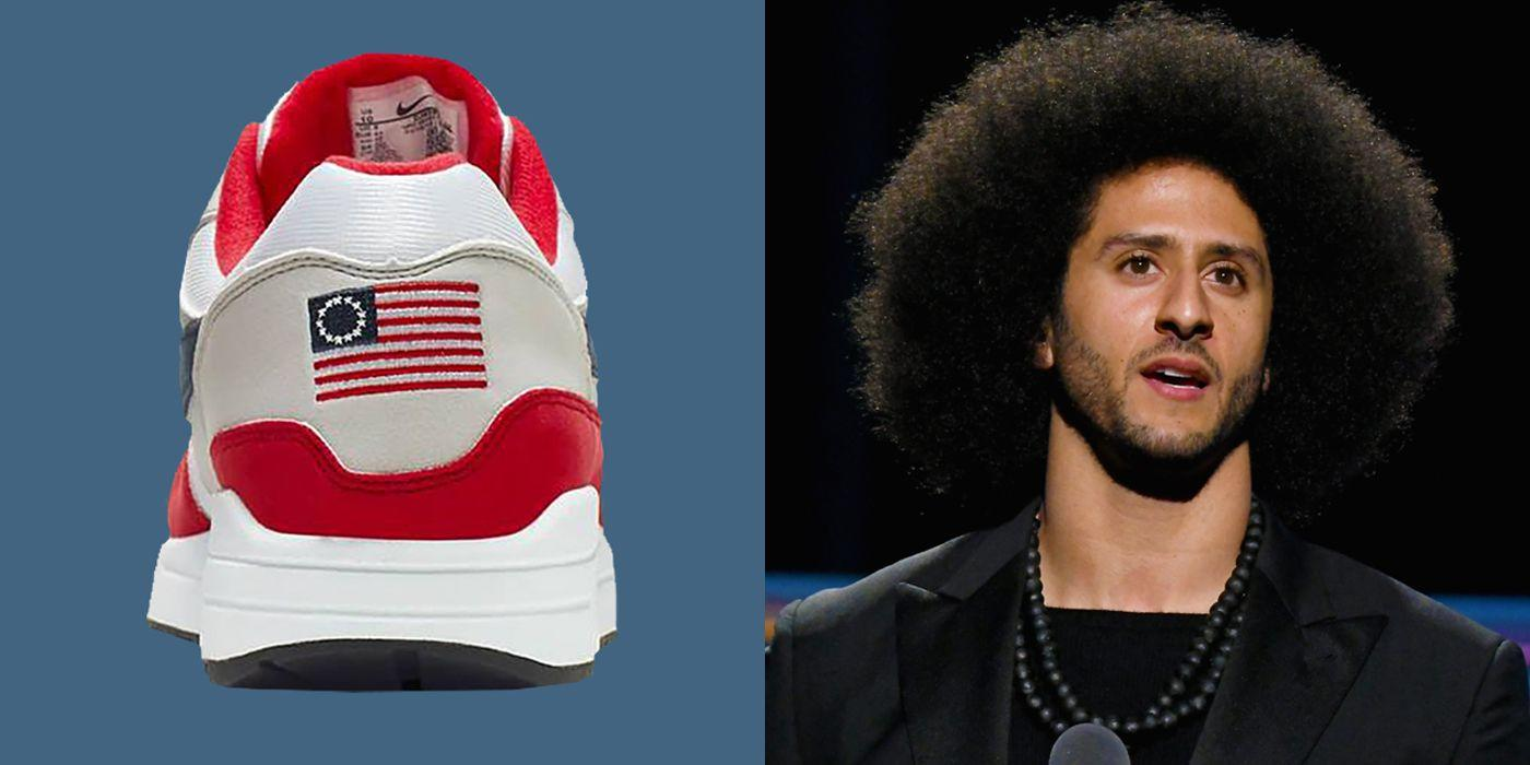 Nike's Betsy Ross flag themed sneakers