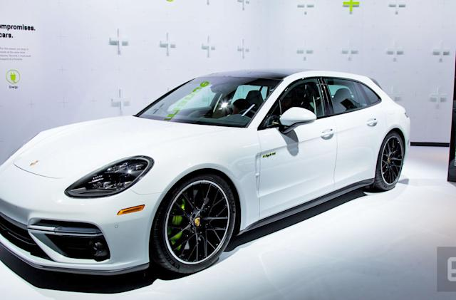 Porsche's powerful hybrid is a sports car disguised as a station wagon