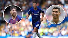 Why Eden Hazard cannot be classed in the same bracket as Cristiano Ronaldo and Lionel Messi