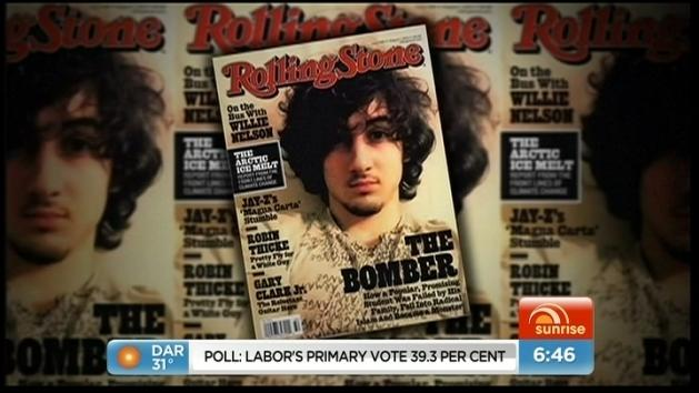 Boston bomb accused on Rolling Stone