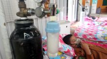 Indonesian haze sees children hospitalised with serious breathing problems