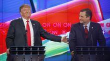 Ted Cruz erntet Spott für Trump-Dinner-Foto