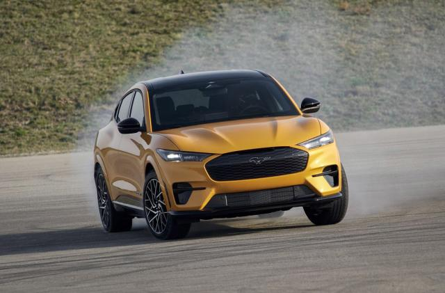 Ford's premium Mustang Mach-E GT EV starts at $59,900
