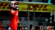 Singapore GP: Leclerc beats Hamilton to pole by 0.191s