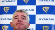 Ryanair CEO 'wouldn't rule out' downgrade to fare forecast