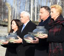 Pence visits Auschwitz after saying Iran plotting 'new Holocaust'