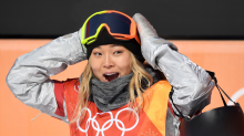 Chloe Kim dyes her hair because her mom made a deal she thought would be hard to beat — and she did it by 13 years old