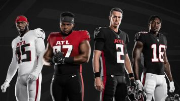 Falcons drop new unis with throwback feel