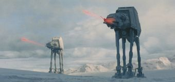 Look back at the iconic 'Empire Strikes Back' SFX