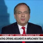Trump defense team reacts to criticism from Democrats, media on day one of impeachment trial
