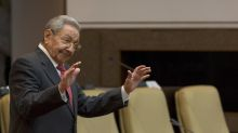 The Latest: Raul Castro gets own theme song