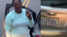 Driver with STAYUMBL license plate, notorious for cutting people off around Durham, charged in incident with bus