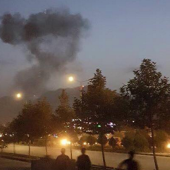 'We are stuck inside': Gunfire, explosions heard at Kabul's American University