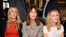 Every famous face on the Paris Fashion Week SS18 front row