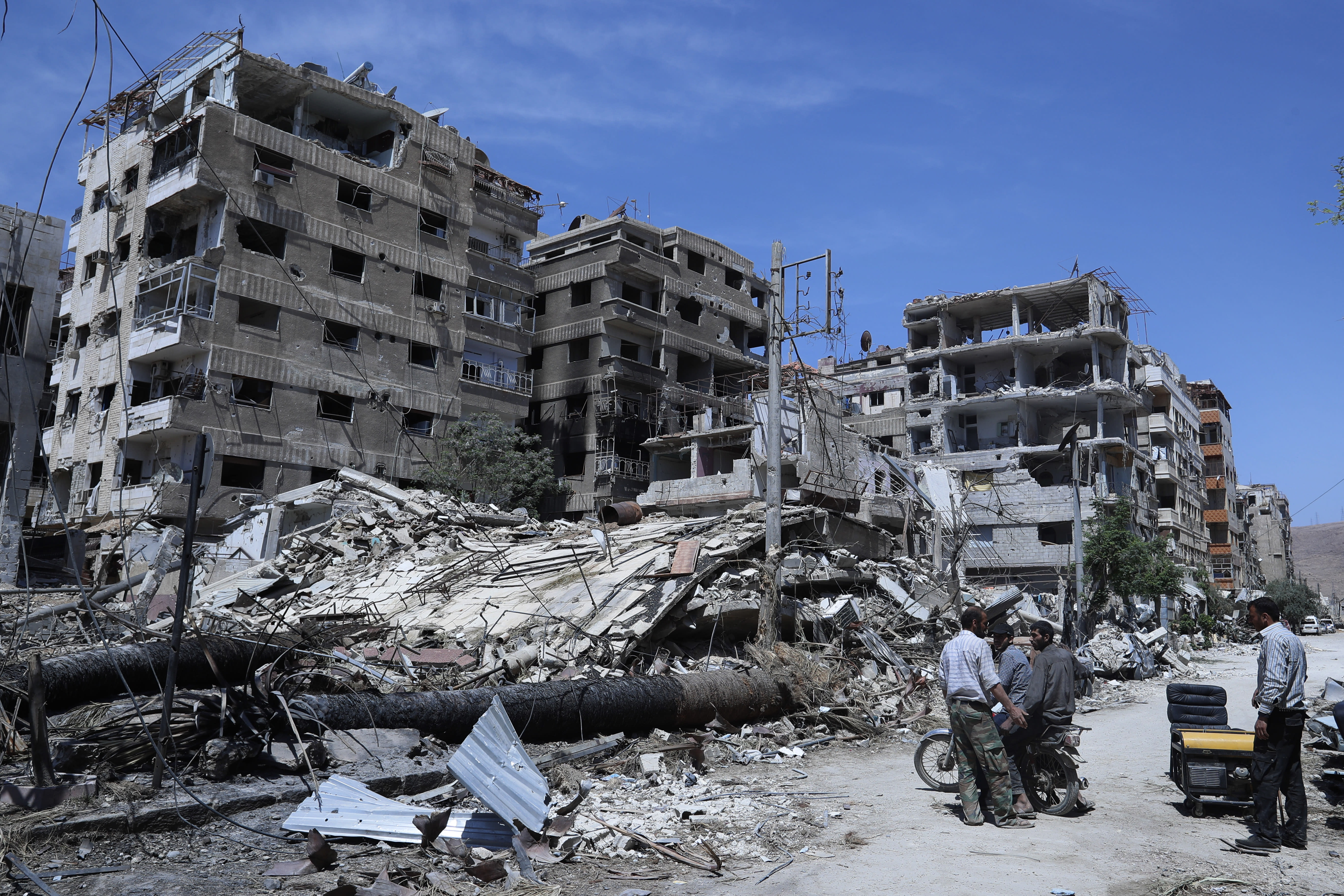 end syrias chemical weapons programme - HD5472×3648