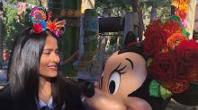 Salma Hayek se vuelve niña en Disney y promueve el poder de la mujer