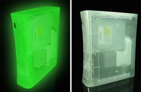 Glow in the dark Xbox 360 enclosure takes you back to 1992