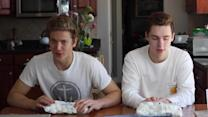 Guy Loses Chubby Bunny Challenge and Wears Shock Collar