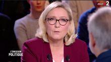 Marine Le Pen ne souhaite pas l'amnistie des gilets jaunes condamnés