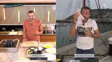 Tous en cuisine en direct avec Cyril Lignac: Jérôme Anthony reçoit un accueil très spécial en Normandie