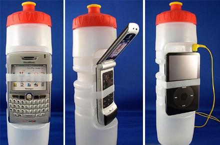 BevyTech's Gadget Bottle: it holds water and gadgets