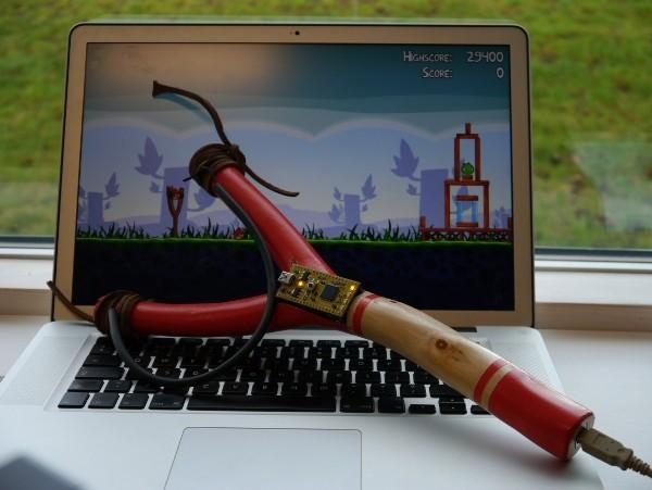 Make Angry Birds awesome again with DIY slingshot controller