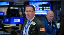 Stocks climb on muted trade hopes, dollar slips