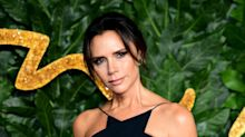 Victoria Beckham and Harper pose as 'Posh and baby Posh'