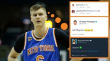 Kristaps Porzingis learned a valuable lesson on Twitter over the weekend