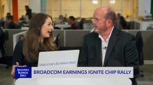 Broadcom Earnings Ignite Chip Rally