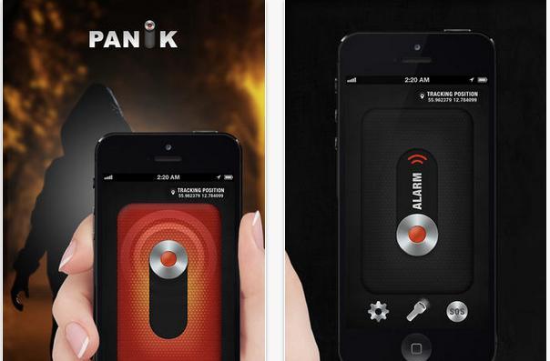 Panik is an assault alert app with social integration