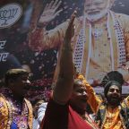 Indian Prime Minister Modi's party sweeps to landslide re-election victory