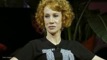 Kathy Griffin faces backlash after offering President Trump a 'syringe with nothing but air'