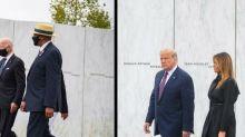11-Septembre: Trump et Biden évitent la controverse malgré des cérémonies rivales