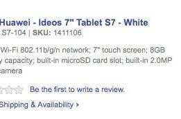Huawei S7 gets Best Buy listing for $299.99, not shipping until November 7th