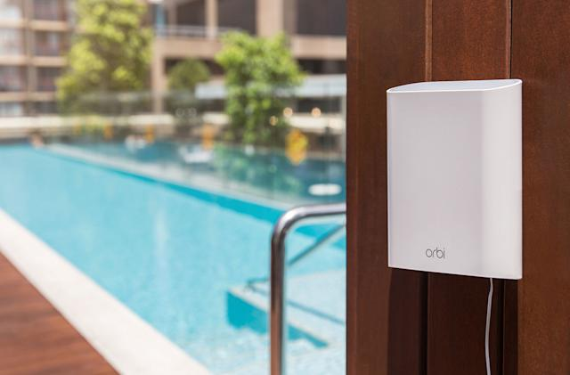 Netgear's Orbi Satellite takes mesh WiFi networks outdoors