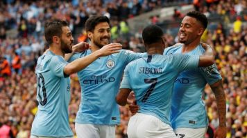 FA Cup final result: Man City flex their muscle to leave helpless Watford trailing in their wake