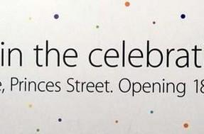 Edinburgh Apple Store finally opening after being announced in 2010