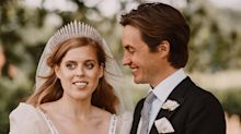 Princess Beatrice's Husband Edoardo Mapelli Mozzi Just Posted a New Photo from the Royal Wedding