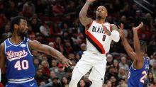 Blazers' Lillard turns to recording music inside NBA bubble